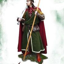 Medieval Fantasy Clothing Fighter for Larp or Other Medieval Festivities  Photo