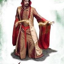 Medieval Fantasy Clothing Mage for Larp or Other Medieval Festivities  Photo