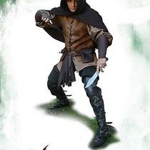 Medieval Fantasy Clothing Rogue  for Larp or Other Medieval Festivities  Photo