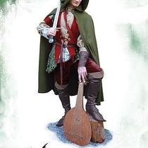 Medieval Fantasy Clothing the Bard  for Larp or Other Medieval Festivities  Photo