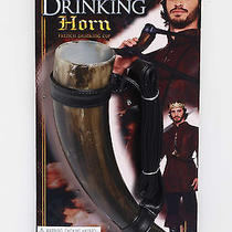 Medieval Fantasy Drinking Horn Game of Thrones Viking Cup Costume Accessory Photo