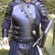 Medieval Fantasy Leather Armor Larp Sca 7 Piece Set  Photo