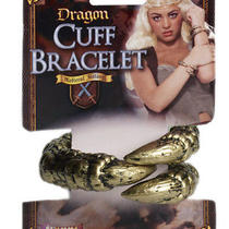 Medieval Fantasy Warrior Game of Thrones Dragon Claw Cuff Bracelet Photo
