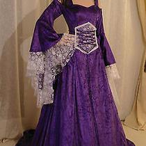 Medieval Wedding Dress Lotr Renaissance Fantasy Gown Custom Made  Photo