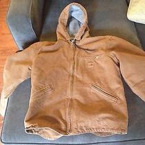 Medium Carhartt Jacket Tan Photo