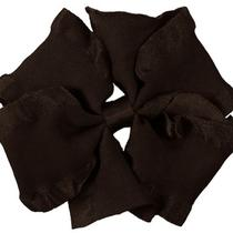 Medium Double Ruffle Pinwheel Hair Bow Girls/toddlers Fancy Bows U Pic u.s.a Photo