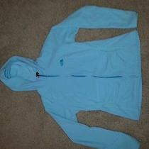 Medium Light Blue Northface Hoodie. Medium Photo
