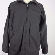 Medium Patagonia Long Gray Fleece Lined Jacket Barn Coat  Photo