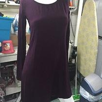 Medium Purple Express Long Sleeve Tshirt Dress Photo
