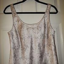 Medium Victoria's Secret Blush Pink Purple Blue Satin Polyester Camisole Top Photo