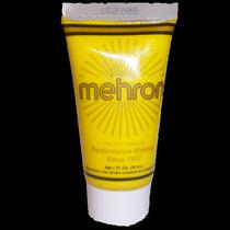 Mehron Fantasy Fx Yellow Face Paint Water Based Cream Makeup Photo