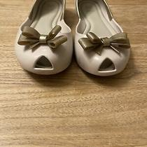 Mel Dreamed by Melissa Girls Size 4 Blush and Gold Photo