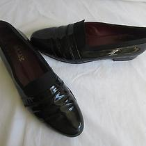 Men Bally Italian Formal Tuxedo Black Leather Loafers Dress Shoes Size 11 Nice Photo