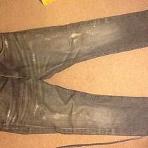 Men Black Balmain Jeans Photo