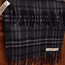 Men Burberry Cashmere Scarf Photo