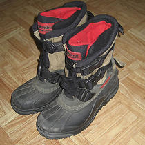 Men Columbia Avalanche Tundra Leather Whinter Thermolite Insulation Boot Size 8 Photo