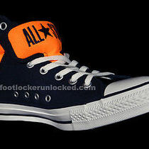 Men Converse All Star Chuck Taylor Primo Athletic Navy Orange Basketball Sz 11 Photo