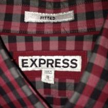 Men Express Fitted Shirt Size Medium Photo