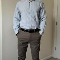 Men Gap Button-Down Long Sleeves Striped Casual Shirts Size Medium S M L Photo