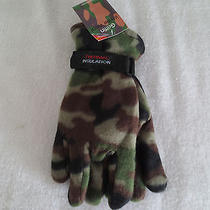 Men Griffin Winter Wear Thermal Gloves Style One Size Fit Most New Cameoflage Photo