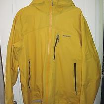 Men Patagonia Primo Jacket Xl Lightly Used Mustard Yellow Pit Zips Powder Ski Photo