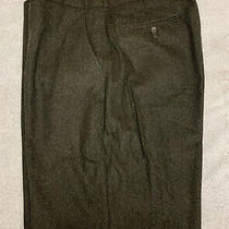 Men Polo by Ralph Lauren Dress Pants Size 38 X 30 Wool Blend Made in Italy Photo