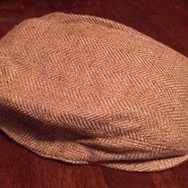 Men Polo Ralph Lauren Lambs Wool Knit Cabbie Driving Winter Hat Cap L Xl Nwt Photo