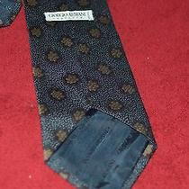 Men's 100% Pure Silk Giorgio Armani Tie Photo