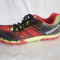 Men's 12.5 Reebok All-Terrain Super Spartan Running Shoes Sneakers H20  Drain Photo