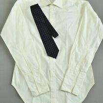 Men's 1970s' Harvie & Hudson of London Luxury Silk Tie & 15.5