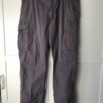 Men's 40 X 32 Carhartt Work Pants Force Relaxed Fit Gray Photo
