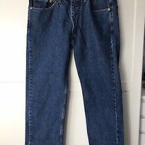 Men's 505 Levi's Jeans 38 X 30 Very Good Condition Pre-Owned Photo