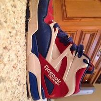 Men's 9.5 Reebok Pumps Red White and Blue  Photo