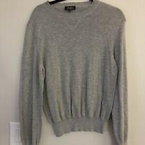 Men's a.p.c. Lightweight Sweater Cotton Wool Knit Xs Photo