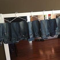 Men's Abercrombie & Fitch Hollister & Express Jeans Lot Photo