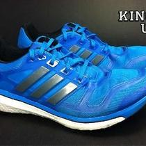 Men's Adidas Energy Boost 2 Running Shoes Turquoise Size 11 Us Photo