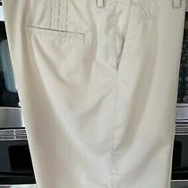 Men's Adidas Golf Shorts Size 40tan Color 10