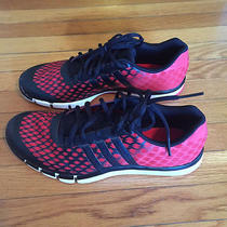 Men's Adidas Red Black Adipure 360.2 Primo Shoes 10 Bearcats Team Issued Photo
