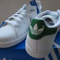 Men's Adidas Stan Smith 2 White/green Size 8 Photo