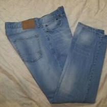 Men's Aeropostale Distressed Skinny Jeans - Size 34 X 32 Photo
