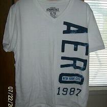 Men's Aeropostale' Ss v-Neck Graphic T - Shirt  Xl Photo