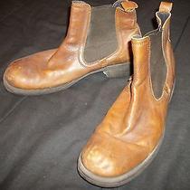 Men's Aldo Cognac Brown 11m Ankle Boots Photo