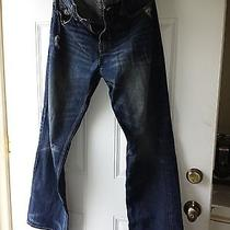Men's American Eagle Jeans 32x32 Distressed Bootcut Photo