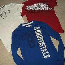 Men's American Eagle T Shirt S & Aeropostale T Shirts S Lot of 3 Photo