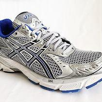 Men's Asics Gel-1160 Running Shoes - Size 9m Silver/blue Photo