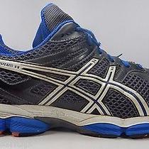 Men's Asics Gel Cumulus 14 Running Shoes Sz Us 15 M (D) Eu 50.5 Gray Blue T246n Photo