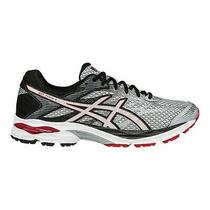 Men's Asics Gel-Flux 4 Running Shoes Sneakers - Red/silver/black/white Photo