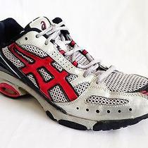 Men's Asics Gel-Kinsei Running Shoes - Size 9m Silver/red/black Photo