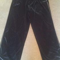 Men's Athletic Pants Size Xxl by Reebok Black / Gray  Photo