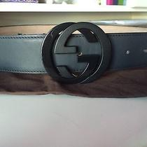 Men's Authentic Gucci Belt Size 36 Us Photo